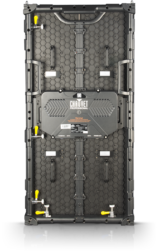 Back Panel featuring dual backup power