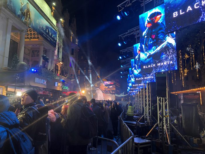 IPS Supports Back To Back Film Premieres With CHAUVET Professional PVP Panels